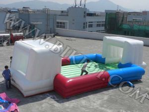 Inflatable Soap Football/ Soccer Game (B6029) pictures & photos