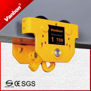 1ton Manual Electric Chain Hoist Trolley pictures & photos