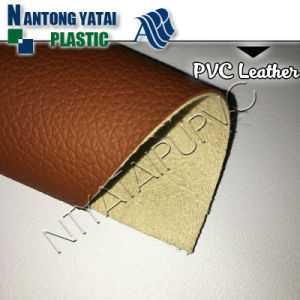 Environmental Protection PVC Synthetic Leather for Sofa, Decorative, Auto Seat and etc pictures & photos