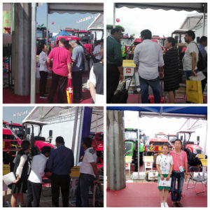 Aidi Brand 4WD Hst Diesel Engine Machine Boom Sprayer for Chemical Manure