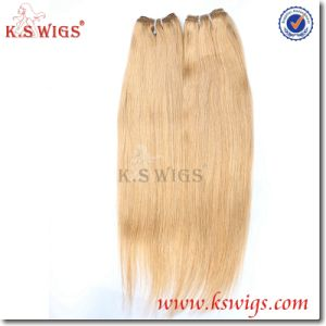 Top Quality Virgin Natural Peruvian Remy Hair Weft Extension pictures & photos