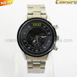 High Quality Men Metal Watch with Three Crowns (SA1140-2)