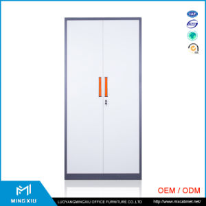 Luoyang Mingxiu 2 Swing Door Large Metal Storage Cabinets / Combination Lock Filing Cabinet pictures & photos