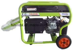 Fusinda 3kVA Gasoline Generator Set with Saso Certificate pictures & photos