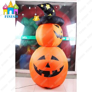 2016 Hot-Sell Halloween Party Decorative Inflatable Pumpkin Lamp LED Lantern pictures & photos