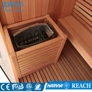 2000*1800*2000mm Freestanding Cedar Wooden Sauna Cabinet (M-6041) pictures & photos