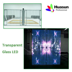 Full Color RGB Wall Glass LED Display