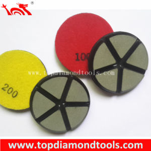Ceramic Bond Diamond Polishing Pads for Concrete Floor Polsihing pictures & photos