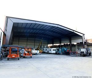 Large Span Steel Structure Hall with Stable Structure