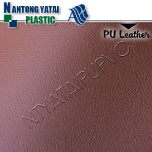 PU Synthetic Artificial Leather with Customising Backing and Pattern for Upholstery