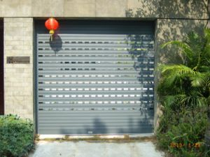 Motorized, Electric Residential Aluminum Rolling Shutter (HA80-1) pictures & photos