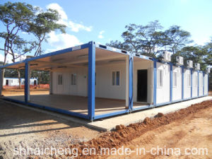 20ft Flat Pack Container House for Mining Camp (shs-fp-camp059) pictures & photos