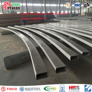 201 Stainless Seamless Steel Square Steel Pipe pictures & photos