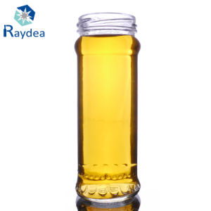 200ml Straight Round Glass Jar with Stock pictures & photos