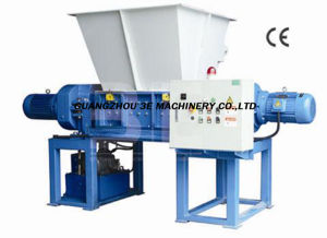 Two Shaft Shredder/Plastic Recycling Machine/Plastic Machinery China pictures & photos