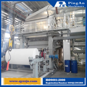 High Speed 2400mm Cylinder Mold Upside Down Pulp Tissue Napkin Toilet Paper Making Machine Price