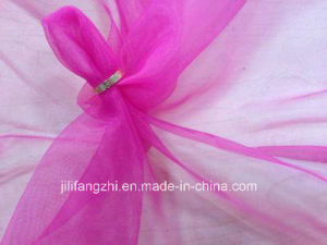 Scarf/Spun Polyester Voile Fabric for Cool Scarf pictures & photos