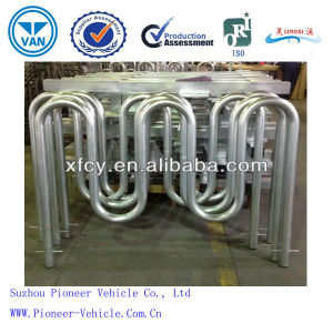 Wave Galvanized Carbon Steel Bike Rack for Bicycle Security pictures & photos