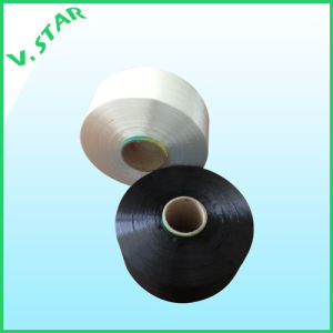 Polyester Dope Dyed Ht Yarn 210d Black pictures & photos