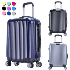 4 Spinner Wheels Flight Suitcase pictures & photos