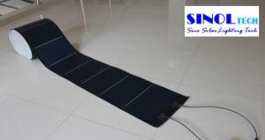 144W 24V Photovoltaic Thin Film Flexible Amorphous Solar PV Module pictures & photos