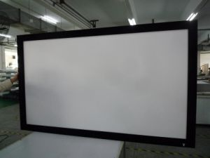 Home Theatre Projection Screen Home Cinema Projector Screen pictures & photos