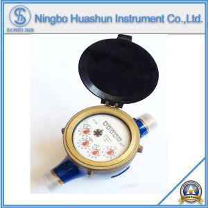 Multi Jet Dry Type Brass Water Meter Class B pictures & photos