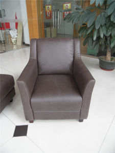 Living Room Sofa with Modern Genuine Leather Sofa Set (457) pictures & photos