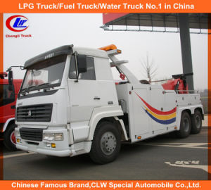 10 Wheel Sinotruk Sino Truck HOWO Wrecker Truck 351-450HP HOWO Wrecker Towering Truck LHD Rhd HOWO Recovery Truck pictures & photos