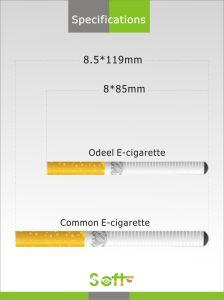 FC 500 Electronic Cigarette Disposable Cigarette