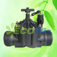 Irrigation Solenoid in Line Valve with Flow Control pictures & photos