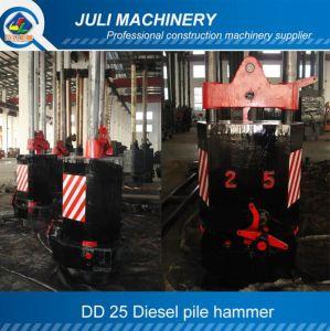 Dd Guide Type Diesel Pile Hammer, Dd 25 Pile Hammer, Dd Siesel Hammer