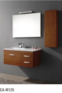 Brown Wood Furniture Modern Bathroom Vanity pictures & photos