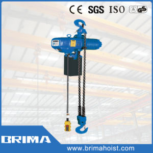 2 Years Warranty Brima 5ton Electric Chain Hoist with Fixed Hook (BM05-02) pictures & photos