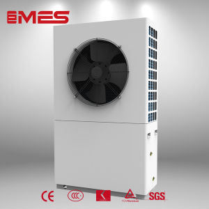Air Source Heat Pump Water Heater 9kw for Room Heating pictures & photos