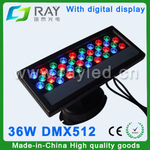 36W High Power RGB Outdoor LED Wall Washer Light