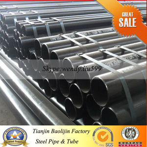 Beveled End Welded Steel Pipes pictures & photos