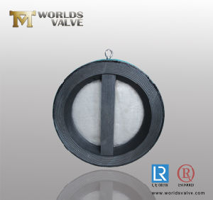 Rubber Lining Dual Plate Check Valve with Ce ISO pictures & photos