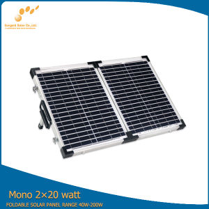 Monocrystalline Solar Folding Panel for Station Use pictures & photos