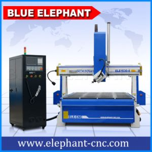4 Axis Woodworking Vacuum Bed CNC Router Machine pictures & photos