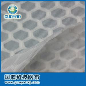 3D 100% Polyester Homestextile Sandwich Mesh Fabric pictures & photos