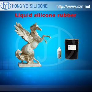 Chemical Silicone Rubber Raw Material, Silicone Rubber for Concrete Horse Statues, Decoration Gypsum Moldings pictures & photos