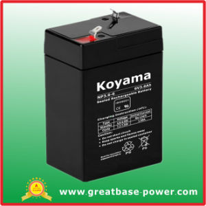 Good Quality UPS Battery Back up Battery Inverter Battery 6V 3.6ah pictures & photos