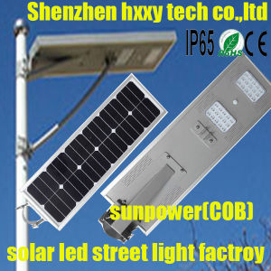 Solar Street Light Lamp/Solar Lighting LED Light Solar Lamp (HXXY-ISSL-80)) pictures & photos