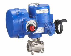 Electric 3 PC Ball Valve (LQ) pictures & photos