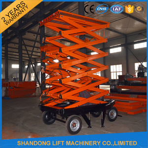 Ce Mobile Platform Ladder Hydraulic Ladder pictures & photos