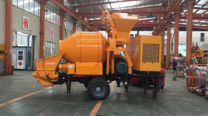 30 Cubic Meter Per Hour Concrete Pump with Mixing System and Diesel Generator pictures & photos