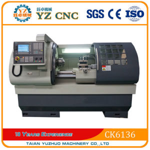 Chinese Horizontal Precision CNC Lathe Price pictures & photos