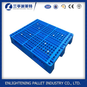 Plastic HDPE Material and 4-Way Entry Type Blue Plastic Pallet pictures & photos
