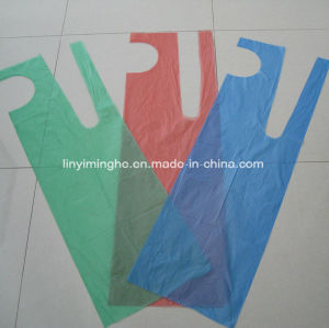 Disposable Plastic HDPE LDPE Folded Single Packed Folded Apron pictures & photos